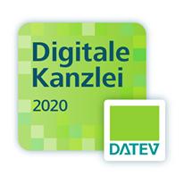 """Bild könnte enthalten: Text """"Digitale Kanzlei 2020 DATEV"""""""